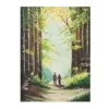 An Original Painting of Old Couple Walking through the Galway Woodlands by Galway Artist Pat Flannery.jpeg