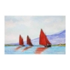 An Original Painting of Boats Racing Home along the Wild Atlantic Way by Galway Artist Pat Flannery.jpeg