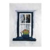 An Original Painting of Reflections in the Window of an Old Irish Thatched Cottage by Galway Artist Pat Flannery.jpeg