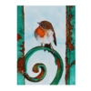 An Original Painting of a Young Irish Robin Redbreast Resting on a Very Old Rusty Gate by Galway Artist Pat Flannery.jpeg