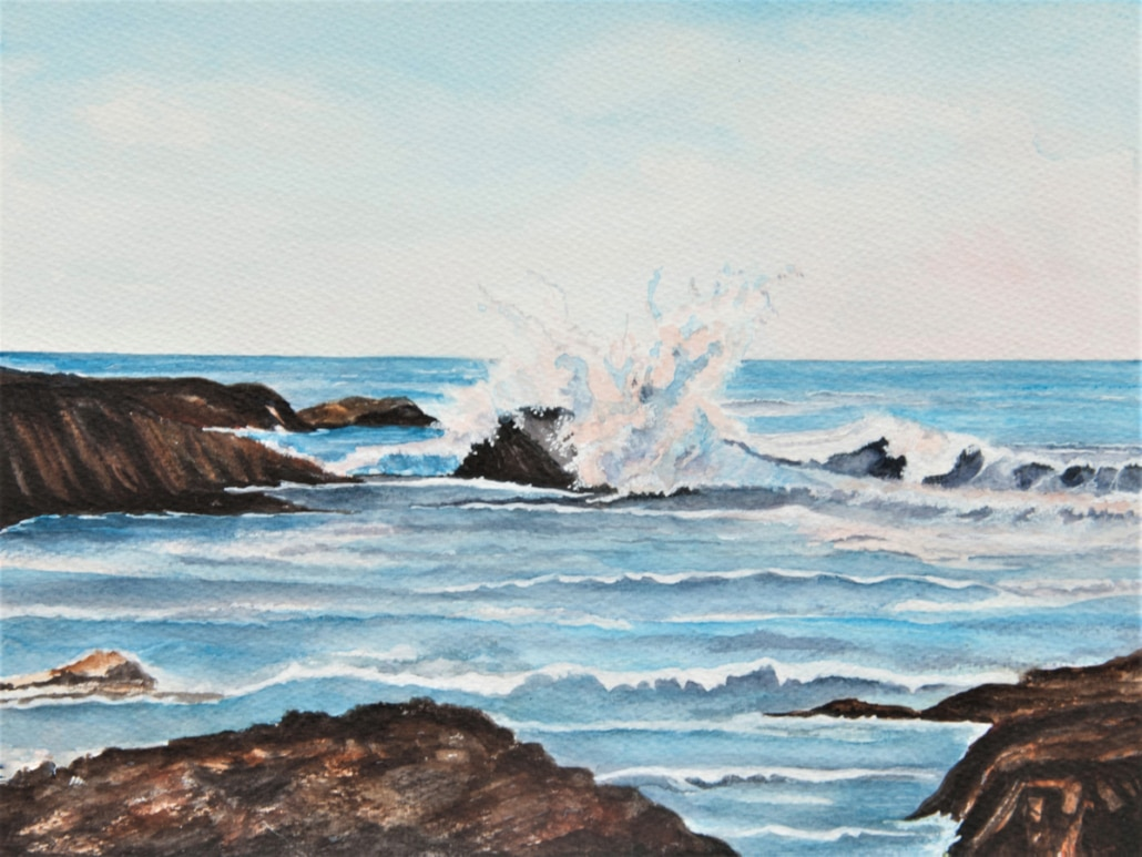 A Breathtaking Waves Crashing in Watercolour by Galway Artist Pat Flannery.jpeg