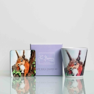 Squirrel Mug and Coaster Set Homeware Gifts.jpeg