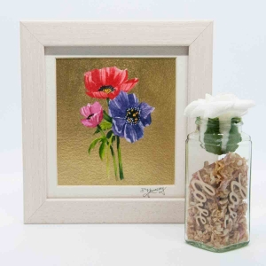 A Beautiful Framed Painting of Anemonies by Galway Artist Pat Flanery.jpeg
