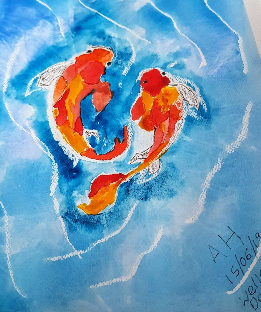 An Original Painting of Fishes in Watercolour by Galway Artist Pat Flanery.jpeg